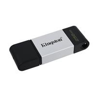 Kingston DataTraveler DT80 256GB USB C 3.2  Plata