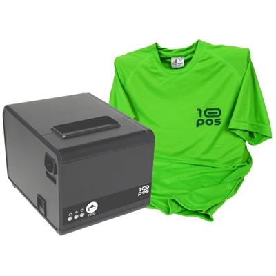 10POS Impresora Térmica RP-10N Usb+Camiseta