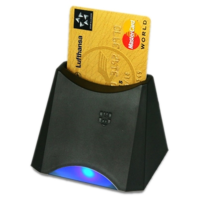 Active Key Lector smart card. USB Negro