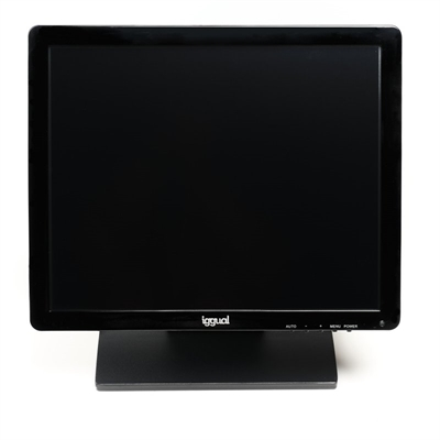 """iggual MTL17B monitor LCD Táctil 17"""""""" SXGA USB"""
