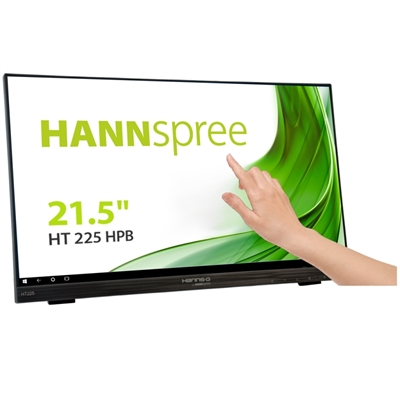 "MONITOR 21,5"" 16:9 TACTIL HANNS-G HT225HPB IPS MULTIMEDIA HDMI, DISPLAYPORT VGA, 10 PUNTOS 178º/178º 80.000.000:1 1920X1080  250cd/m"