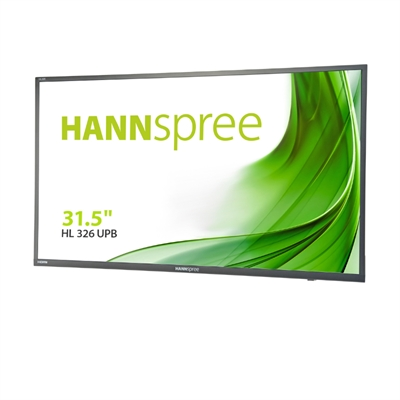 "Hanns G HL326UPB  Monitor 31.5"""" IPS HDMI USB  MM"