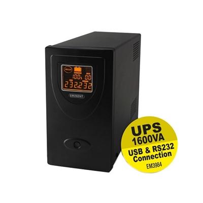 Eminent EM3984 - UPS - 900 vatios - 1600 VA