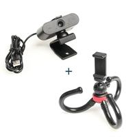 iggual Kit Webcam Quick View + mini trípode MT360