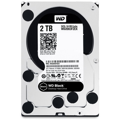 WD Black Performance Hard Drive WD2003FZEX - disco duro - 2 TB - SATA 6Gb/s