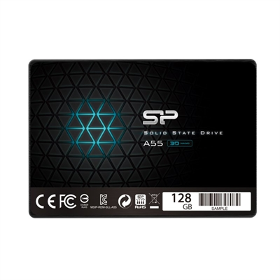"SP Ace A55 SSD 128GB 2.5"""" 7mm Sata3"