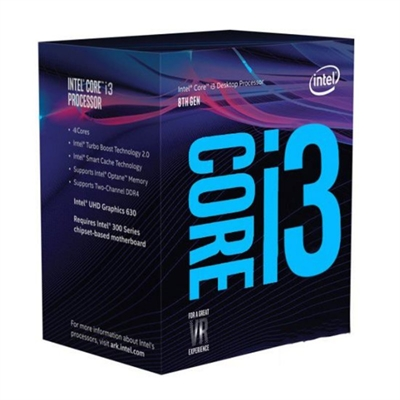 Intel Core i3 8100 / 3.6 GHz procesador