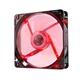 Nox Ventilador Caja Cool Fan 12cm Led Rojo
