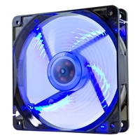 Hiditec Ventilador 120x120mm Led Azul