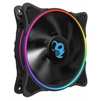 Coolbox VENTILADOR AUX DEEP IRIS 12CM A-RGB DOBLE