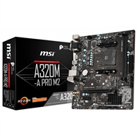MSI Placa Base A320M-A PRO M2 AM4