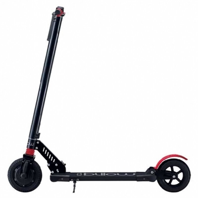 "Billow URBAN85 Patin 4400mAp 8"""" Negro-Rojo"