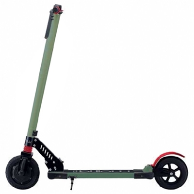 "Billow URBAN85 Patin 4400mAp 8"""" Verde-Rojo"