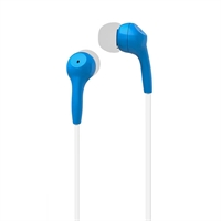 X-One API1000BL Auriculares In-Ear +mic plano Azul