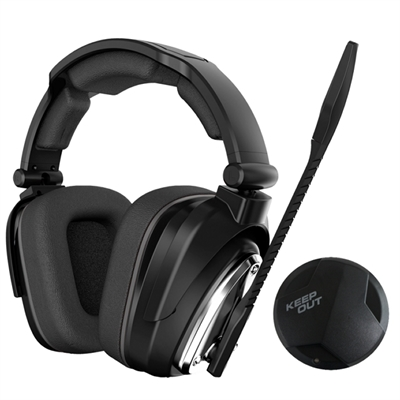 KEEP OUT HXAIR AURICULAR+MICRO GAMING HEADSET AURICULARES