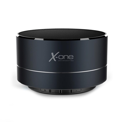X-One ABT1000DS Altavoz portátil BT mSD ML Negro