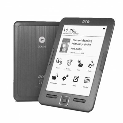 SPC 5608N eBook Reader Dickens 6 Pulgadas  8GB