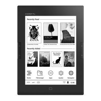 """Energy E-Ink Series eReader Pro HD - lector eBook - Android 4.2 (Jelly Bean) - 8 GB - 6"""""""