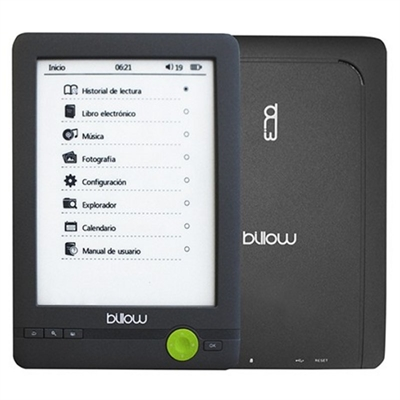 billow E03FLC - lector eBook - 4 GB - 6""