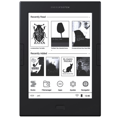 """Energy eReader Max - lector eBook - Android 4.2 (Jelly Bean) - 8 GB - 6"""""""