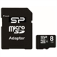 SP SP008GBSTH010 MicroSD Clase 10 8GB