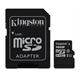 Kingston SDCS/16GB micro SD XC clase 10 16GB
