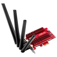ASUS PCE-AC88 Tarjeta Red WiFi AC3100 PCI-E