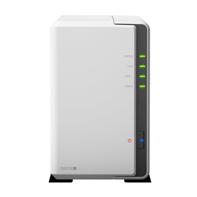 Synology Disk Station DS218j - servidor NAS - 0 GB