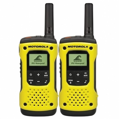 MOTOROLA Walkie-Talkies T92 H2O Pack Yellow 10km/8 canales/sumergible A9P00811YWCMAG