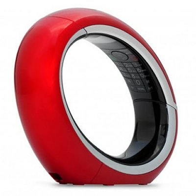 "AEG ECLIPSE Tlf. DECT AG200 ML LCD 1.6"""" ECO Rojo"