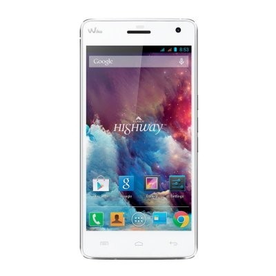 "Wiko HIGHWAY 5"""" FHD IPS OctaCore 2.0GHz 2+16GB Bco"