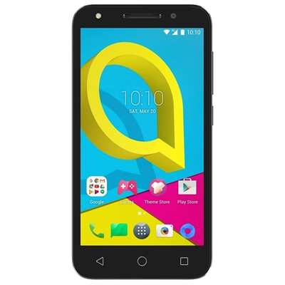 Alcatel U5 - negro volcán, gris cacao - 4G LTE - 8 GB - GSM - smartphone