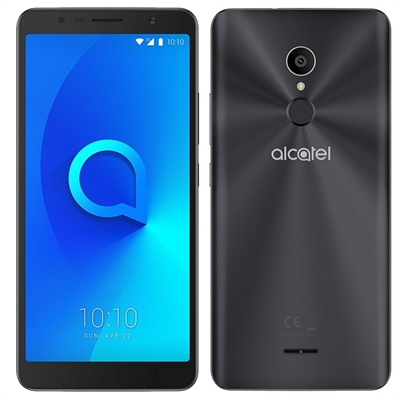 Alcatel One Touch 3C - negro metálico - 3G HSPA+ - 16 GB - GSM - smartphone