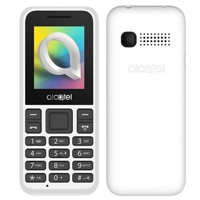 "Alcatel 1066D Telefono Movil 1.8"""" QQVGA BT Blanco"