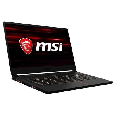 "MSI GS65 8RE 604XES Stealth Thin - 15.6"" - Core i7 8750H - 16 GB RAM - 512 GB (2x) SSD"