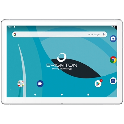 "25.4 cm (10"""") , 1280x800, IPS, 1.6GHz OCTA CORE, 3GB DDR3, 32GB, 0.3MP/2MP, IEEE 802.11 b/g/n/ac, Bluetooth 4.0, Android 9.0, Blanco"