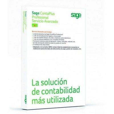 Sage Contaplus Profesional Servicio Avanzado Lic.E