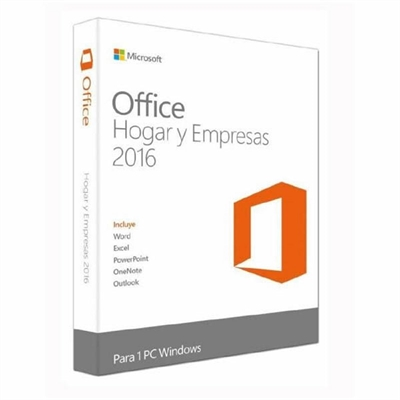 Microsoft Office Home and Business 2016 - caja de embalaje - 1 PC